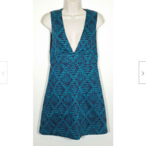 ANNA SUI Wool Blend Sleeveless Sheath Dress 2422E1